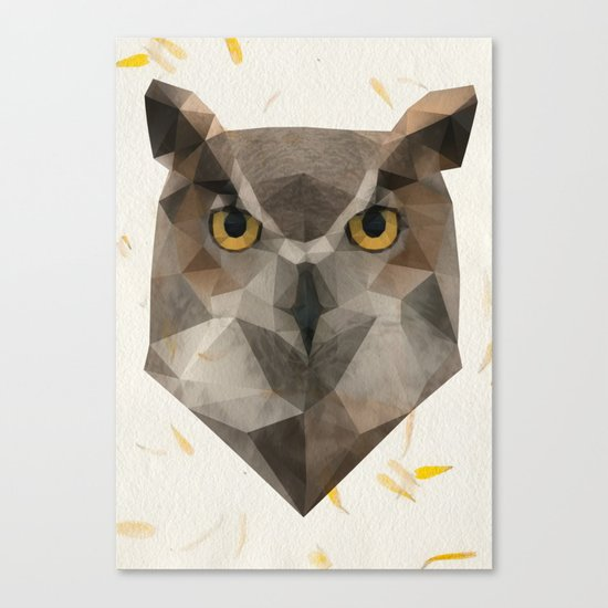 OWL triangle Canvas Print