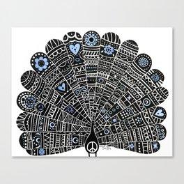 Peacocks for Peace Canvas Print