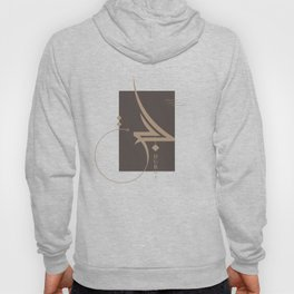Dubai freestyle arabic calligraphy Hoody
