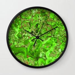 Marble Emerald Green Wall Clock