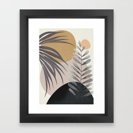 Elegant Shapes 15 Framed Art Print