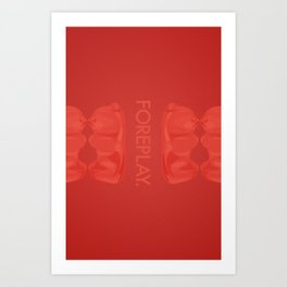 Foreplay Art Print