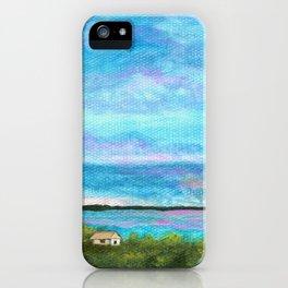 Good Morning, Beach House Sunrise iPhone Case