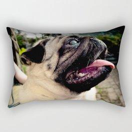Benson The Pug Rectangular Pillow