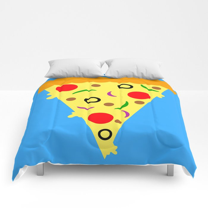 Pizza!  Food of the Gods! Comforters