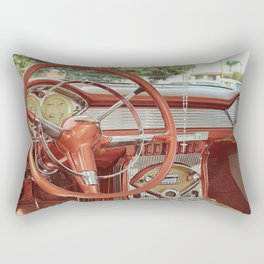 Ranfla, Rolas y Rosary Rectangular Pillow