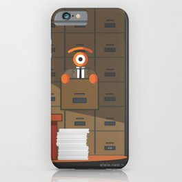 lost in kafka's process iPhone Case