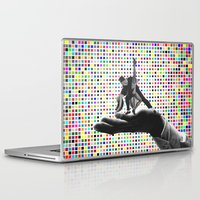 dirty dancing Laptop & iPad Skins featuring Dancing by Cs025