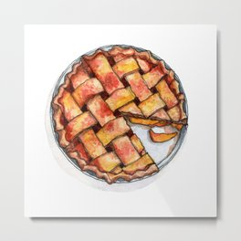Desserts: Apple Pie Metal Print