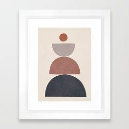 Balancing Elements III Framed Art Print
