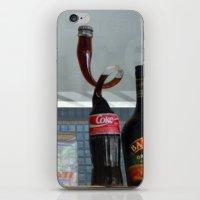 coca cola iPhone & iPod Skins featuring Coca cola by Miz2017