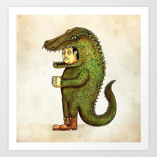 El coco Art Print