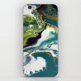 Peacock Island iPhone Skin