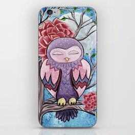 Sleepy lady  iPhone Skin
