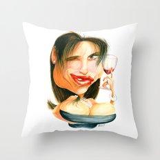 Wine Snob No.4 Throw Pillow