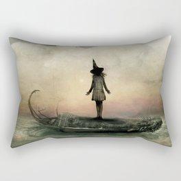 I Sleep In Stone Three. Rectangular Pillow