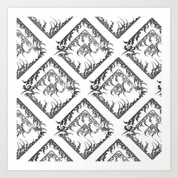 Diamond (1) Art Print