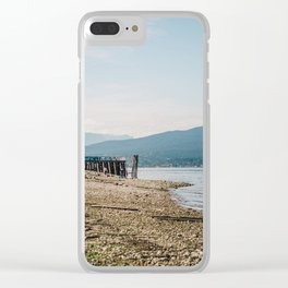 Marine Park Clear iPhone Case