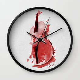 Symphony Series: The Cello Wall Clock