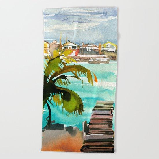 Seascape #2 Beach Towel