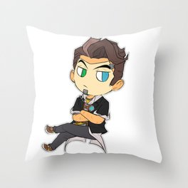 Handsome Jack  Throw Pillow