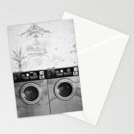 Vintage Laundromat Stationery Cards