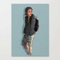 camouflage Canvas Prints featuring Camouflage by Laia™
