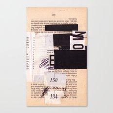 BOOKMARKS SERIES pg 302 Canvas Print