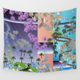 Earth Potpourri Wall Tapestry