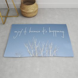 perks of being a wallflower - life is happening Rug