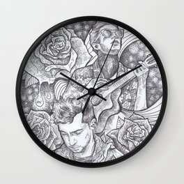 Tyler Joseph and Blurryface. TOP Wall Clock