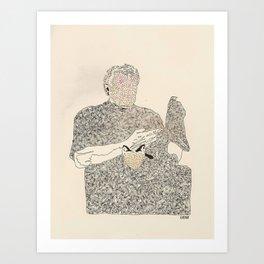 ol d friends Art Print