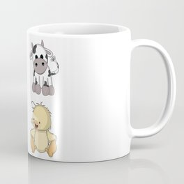 Cute Farm Animals Coffee Mug