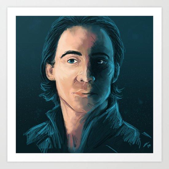 Prince of Lies Art Print