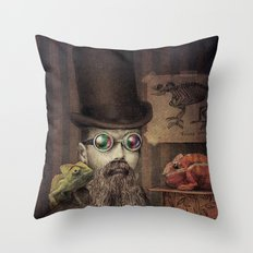 The Chameleon Collector Throw Pillow