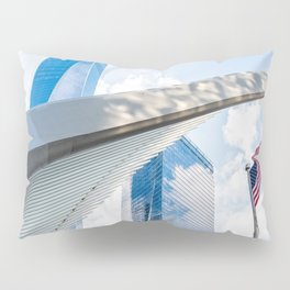 One World Trade Center and Oculus in New York Pillow Sham