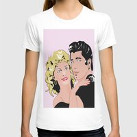 grease T-shirts featuring grease by POP DESIGN