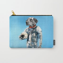 Astronaut-Dalmatian Carry-All Pouch