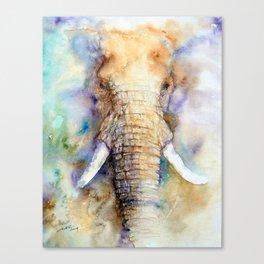 Dream Big Elephant Canvas Print