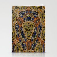 hippy Stationery Cards featuring Hippy by RingWaveArt