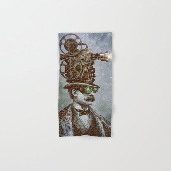 The Projectionist (colour option) Hand & Bath Towel