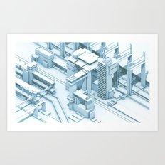 Mass Transit Art Print