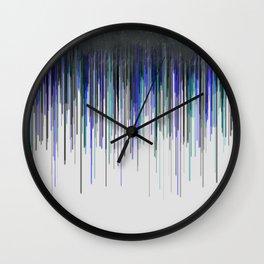 """""""Rain"""" Wall Clock"""