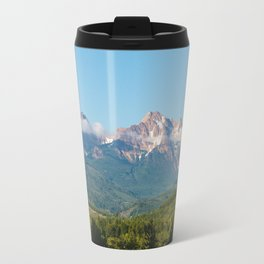 Sunny Mountain Summer Travel Mug