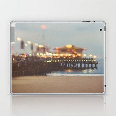 Beach Candy. Santa Monica pier photograph Laptop & iPad Skin
