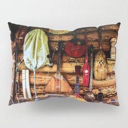 Ancient Folk Musical Instruments Pillow Sham