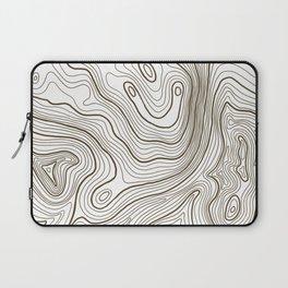 Topo Lines Laptop Sleeve
