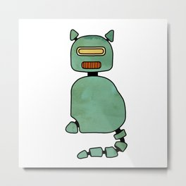 RoboCat – Limited Edition Metal Print