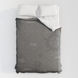 Dean and Sam Aliases Comforters