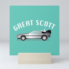 Great Scott Mini Art Print